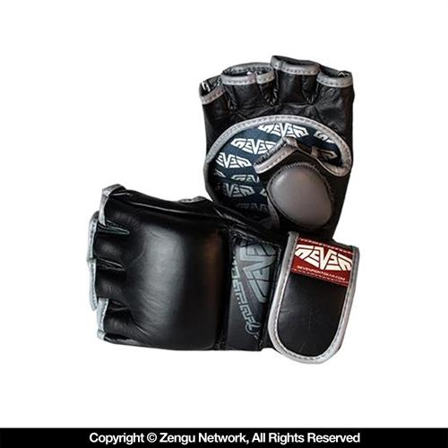 Seven Seven Hybrid MMA Gloves - Black